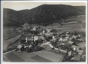 ZZ-4315/ Deising b. Riedenburg Foto seltenes Luftbild 1937 18 x 13 cm