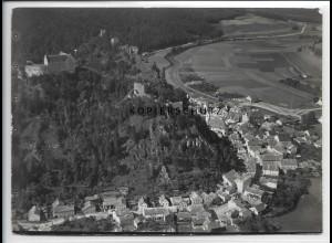 ZZ-4316/ Riedenburg Altmühlthal Foto seltenes Luftbild 1937 18 x 13 cm