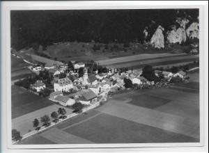ZZ-4318/ Prunn i. Altmühltal Foto seltenes Luftbild 1937 18 x 13 cm