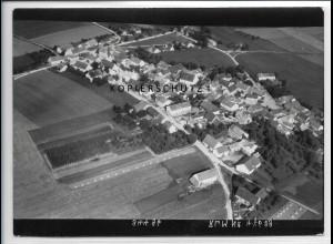ZZ-4320/ Mindelstetten Foto seltenes Luftbild 1938 18 x 13 cm