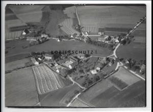 ZZ-4321/ Bachl bei Rohr Foto seltenes Luftbild 1938 18 x 13 cm