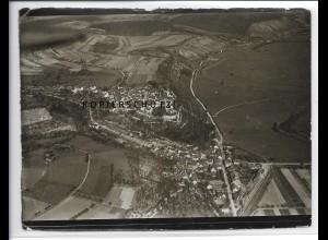 ZZ-4114/ Krautheim Foto seltenes Luftbild 1937 18 x 13 cm