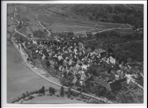 ZZ-4116/ Gommersdorf b. Krautheim Foto seltenes Luftbild 1937 18 x 13 cm