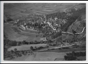 ZZ-4122/ Jagsthausen Foto seltenes Luftbild ca.1936 18 x 13 cm