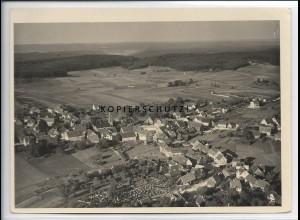 ZZ-4119/ Gschwend Foto seltenes Luftbild 1936 18 x 13 cm