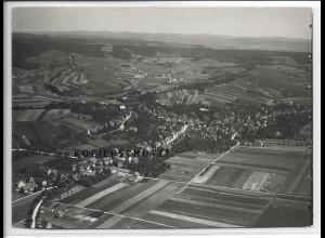 ZZ-4076/ Flein bei Heilbronn Foto seltenes Luftbild 1936 18 x 13 cm