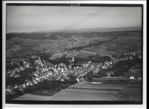 ZZ-4078/ Flein bei Heilbronn Foto seltenes Luftbild 1936 18 x 13 cm