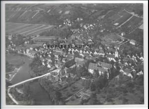 ZZ-4130/ Dörzbach Foto seltenes Luftbild ca.1938 18 x 13 cm