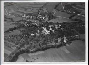 ZZ-4131/ Rappach bei Bretzfeld Foto seltenes Luftbild 1937 18 x 13 cm