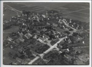 ZZ-4133/ Pfaffenhofen Württemberg Foto seltenes Luftbild 1937 18 x 13 cm