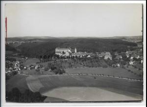 ZZ-4164/ Wolfegg Foto seltenes Luftbild ca.1935 18 x 13 cm
