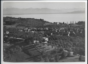 ZZ-4163/ Wasserburg bei Lindau Foto seltenes Luftbild 1935 18 x 13 cm