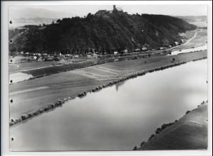 ZZ-4150/ Bogen - Bogenberg Foto seltenes Luftbild 1937 18 x 13 cm