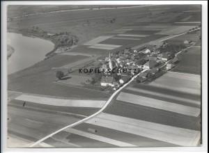 ZZ-4149/ Pondorf b. Kirchrodt Foto seltenes Luftbild 1938 18 x 13 cm