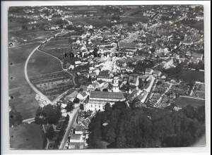 ZZ-4143/ Deggendorf Foto seltenes Luftbild 1937 18 x 13 cm