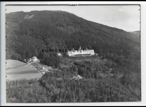 ZZ-4140/ Sanatorium Hausstein b.Schaufling Foto seltenes Luftbild 1938 18 x 13cm
