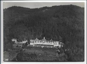 ZZ-4139/ Sanatorium Hausstein b.Schaufling Foto seltenes Luftbild 1938 18 x 13cm