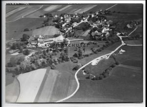 ZZ-4138/ Schönerting bei Vilshofen Foto seltenes Luftbild 1938 18 x 13 cm