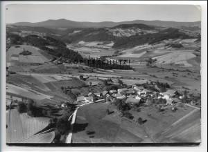 ZZ-4136/ Mitternach Schönberg b. Grafenau Foto seltenes Luftbild 1936 18 x 13 cm