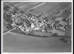 ZZ-4135/ Gergweis bei Osterhofen Foto seltenes Luftbild 1938 18 x 13 cm