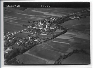 ZZ-4134/ Pörndorf bei Adlersbach Foto seltenes Luftbild 1938 18 x 13 cm