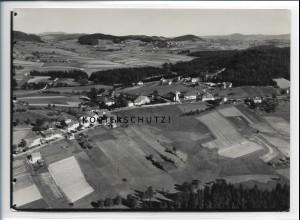 ZZ-4167/ Eberhardsreuth b. Schönberg Foto seltenes Luftbild ca.1935 18 x 13 cm