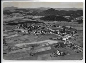 ZZ-4168/ Eberhardsreuth b. Schönberg Foto seltenes Luftbild 1936 18 x 13 cm