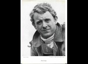 C4110/ Piers Courage Formel 1 Rennfahrer 60er Jahre gestorben 1970 29,5 x 20 cm