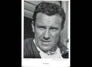 C4112/ Paul Hawkins Rennfahrer 60er Jahre, gestorben 1969 29,5 x 20 cm