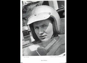 C4113/ Bruce McLaren Formel 1 Rennfahrer 60er Jahre, gestorben 1970 29,5 x 20cm