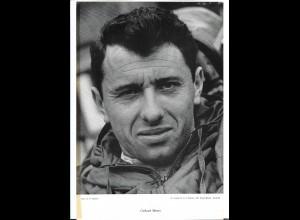 C4114/ Gerhard Mitter Rennfahrer 60er Jahre, gestorben 1969 29,5 x 20cm