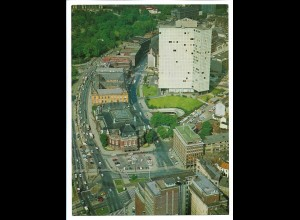 C4186/ Hamburg Unilever Hochhaus Musikhalle Luftaufnahme 1969 24 x 18 cm