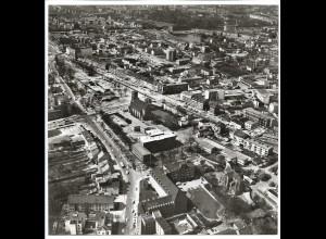 C4138/ Hamburg Wandsbek Bau des ZOB Luftaufnahme 1964 21 x 21 cm