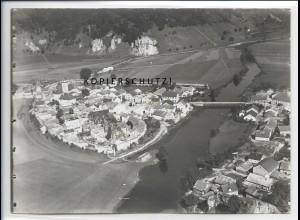 ZZ-4456/ Dollnstein Foto seltenes Luftbild 1936 18 x 13 cm