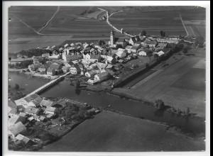 ZZ-4455/ Dollnstein Foto seltenes Luftbild 1936 18 x 13 cm