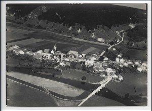 ZZ-4454/ Breitenfurt b. Dollnstein Foto seltenes Luftbild 1939 18 x 13 cm
