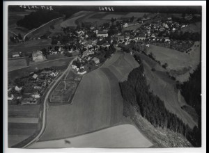 ZZ-4453/ Presseck Foto seltenes Luftbild 1939 18 x 13 cm