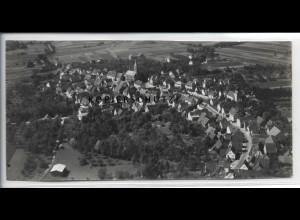 ZZ-5122/ Schluchtern Leingarten Foto seltenes Luftbild 1935 18 x 8,5 cm