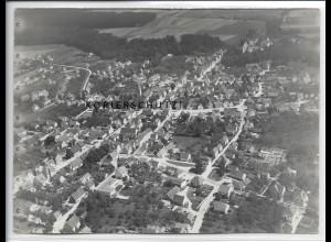 ZZ-4435/ Illertissen Foto seltenes Luftbild 1937 18 x 13 cm