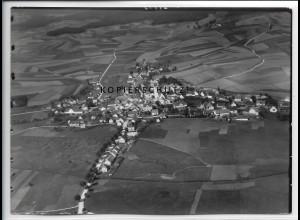 ZZ-4434/ Ilmmünster Foto seltenes Luftbild 1937 18 x 13 cm