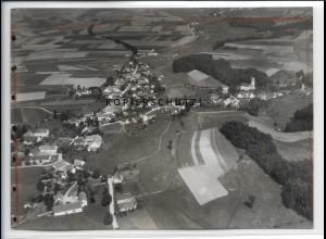 ZZ-4432/ Tegernbach b. Pfaffenhofen Foto seltenes Luftbild 1937 18 x 13 cm