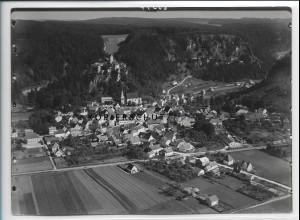ZZ-4427/ Kipfenberg Foto seltenes Luftbild 1936 18 x 13 cm