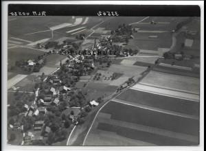 ZZ-4418/ Überackern bei Burghausen Foto seltenes Luftbild 1938 18 x 13 cm