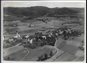 ZZ-4416/ Lalling Foto seltenes Luftbild 1937 18 x 13 cm