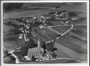 ZZ-4406/ Staufen b. Syrgenstein Foto seltenes Luftbild 1936 18 x 13 cm