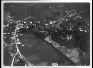 ZZ-4402/ Taufkirchen Foto seltenes Luftbild 1938 18 x 13 cm