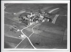 ZZ-4398/ Hofkirchen bei Taufkirchen Foto seltenes Luftbild 1938 18 x 13 cm