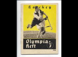 C4222/ Hockey Olympia Heft Nr. 7 Berlin 1936 Olympiade