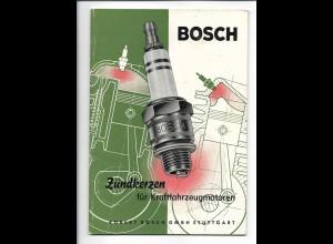 C4220/ Bosch Zündkerzen für Kraftfahrzeugmotoren Heft 36 Seiten 1954