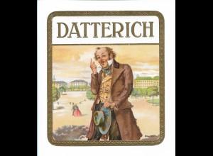 Y18826/ Altes Zigarrenkisten-Etikett Datterich Litho Prägedruck